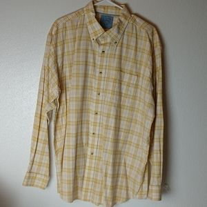 LL Bean mens button down shirt!